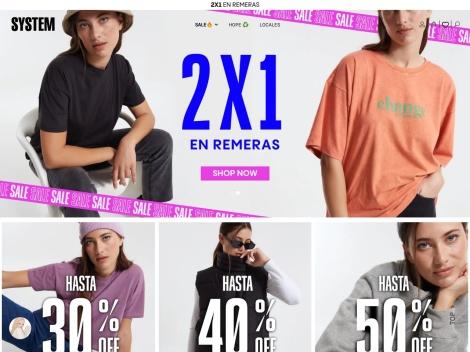 Tienda online de System Basic