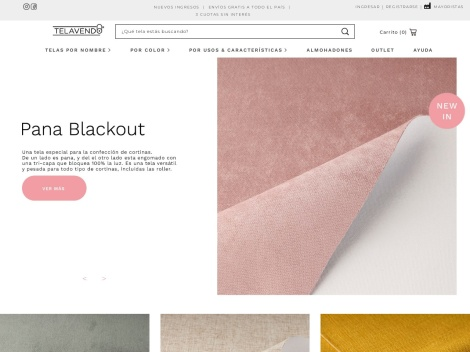 Tienda online de Telavendo