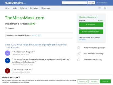 "Venta online de  en Barbijos Tapabocas ""The Micromask"" | Venta Online"