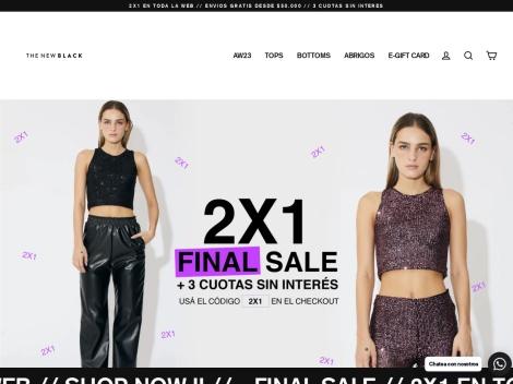 Tienda online de The New Black