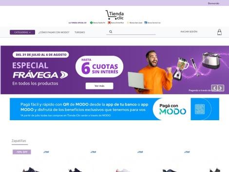 Tienda online de Tienda Clic
