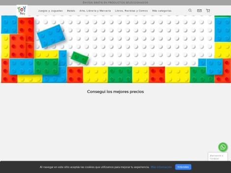 Tienda online de ToyBox