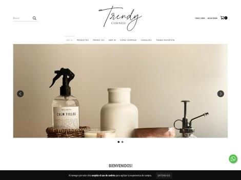 Tienda online de Trendy Corner