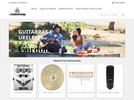 """Tienda online de Casa de Instrumentos Musicales: """"Tu Instrumento"""""""