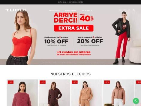 Tienda online de Tucci Moda On line