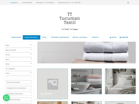 Tienda online de Tucuman Textil