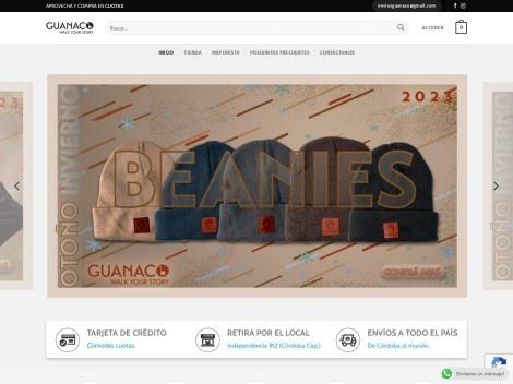 Tienda online de Alpargatas Tus Guanaco