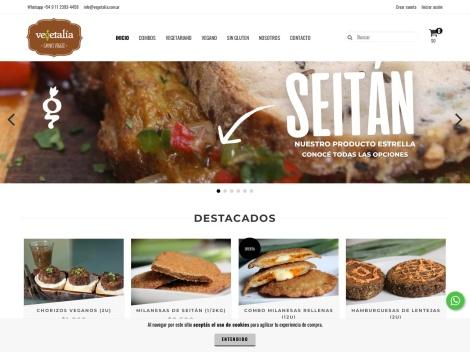 Tienda online de Vegetalia   Carnes Veggies
