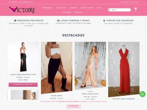 Tienda online de VICTOIRE (Mayorista)