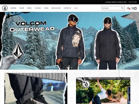 Tienda online de Volcom Argentina