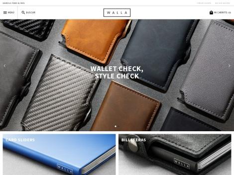 Tienda online de WALLA Wallets