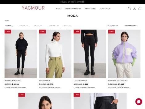 Tienda online de Tienda Yagmour – Ropa