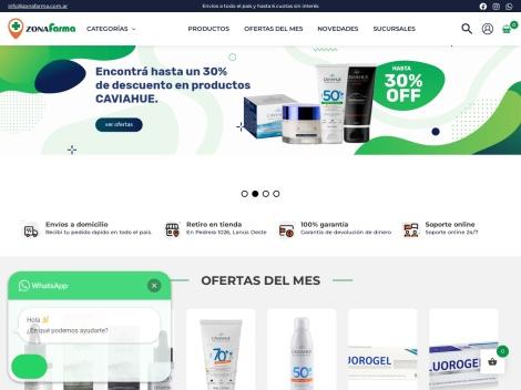Tienda online de Zona Farma