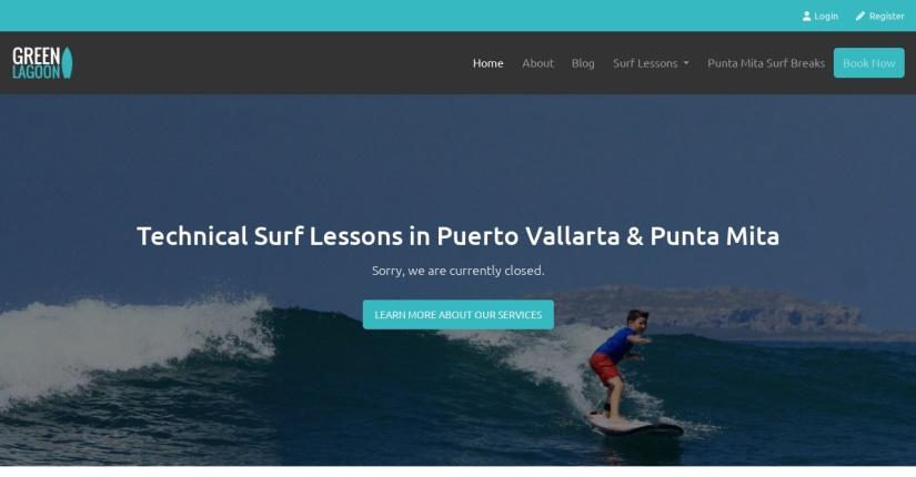 Green Lagoon  Surf School in Punta Mita
