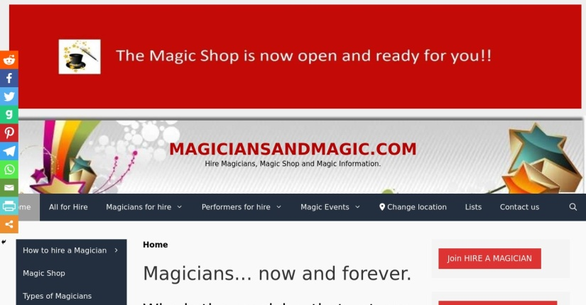 magiciansandmagic.com