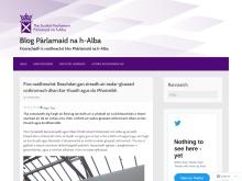 Blog Pàrlamaid na h-Alba
