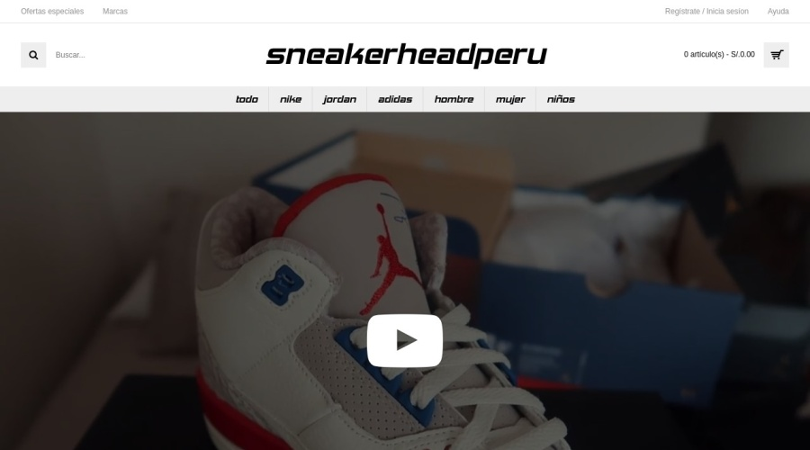 Sneakerhead Perú