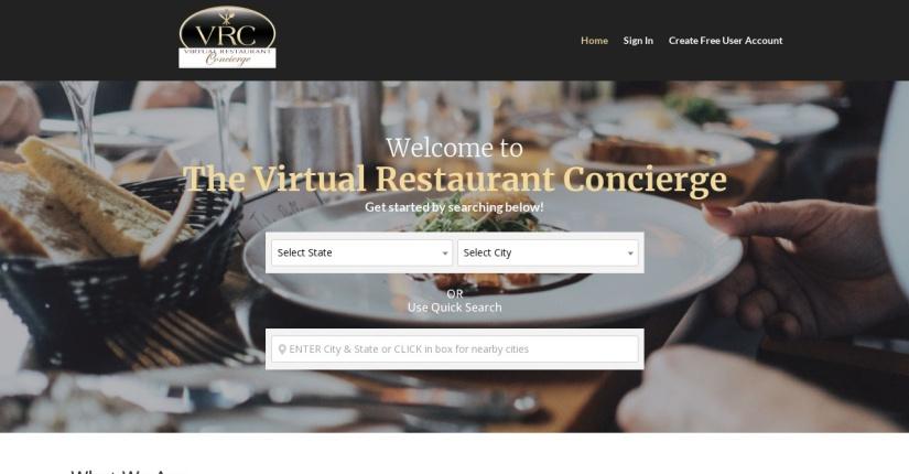 Virtual Restaurant Concierge