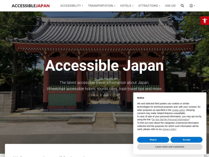 Accessible Japan