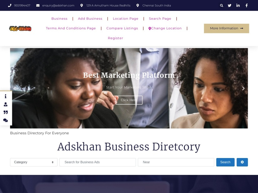 Ads-KHan Business Directory in India