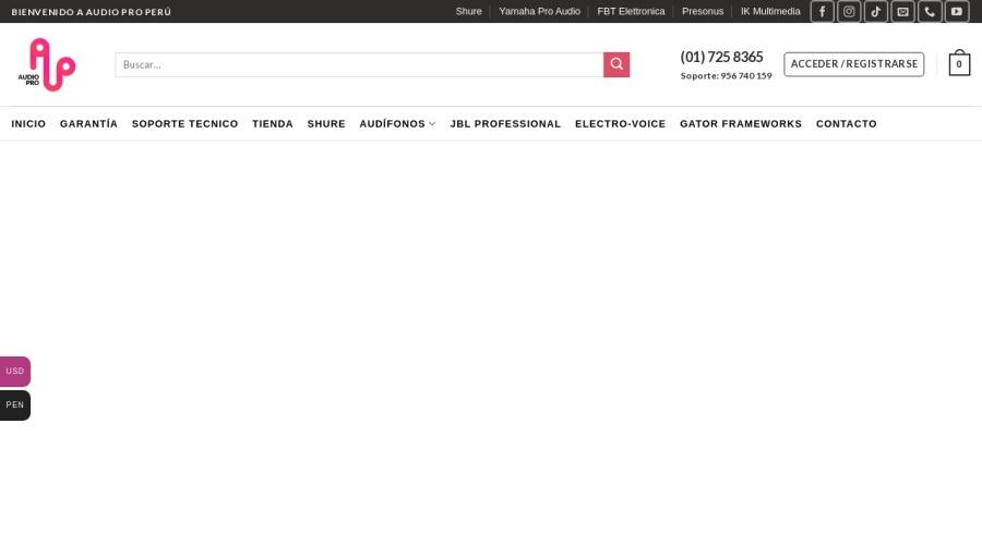 Audio Pro Perú