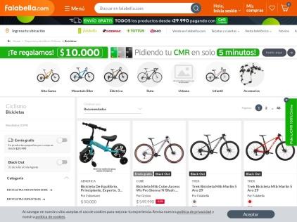 Falabella Bicicletas