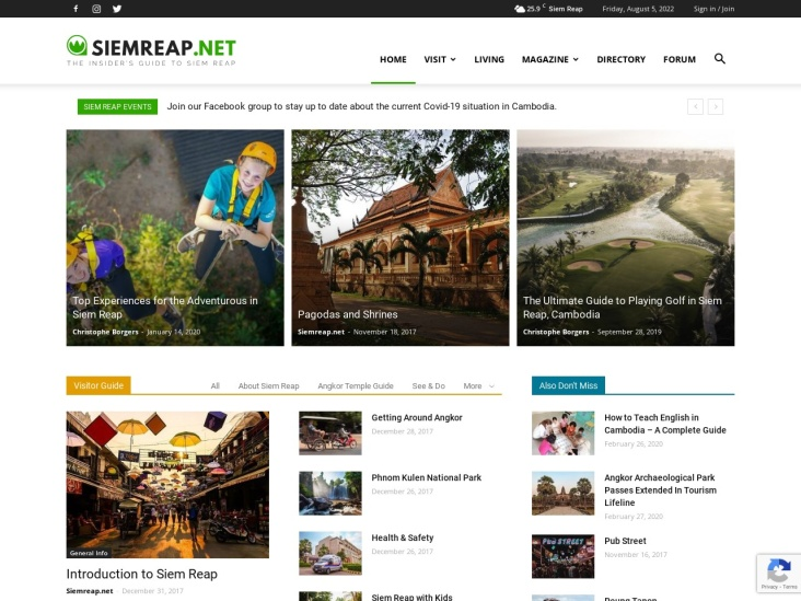 Siem Reap Travel & Living Guide