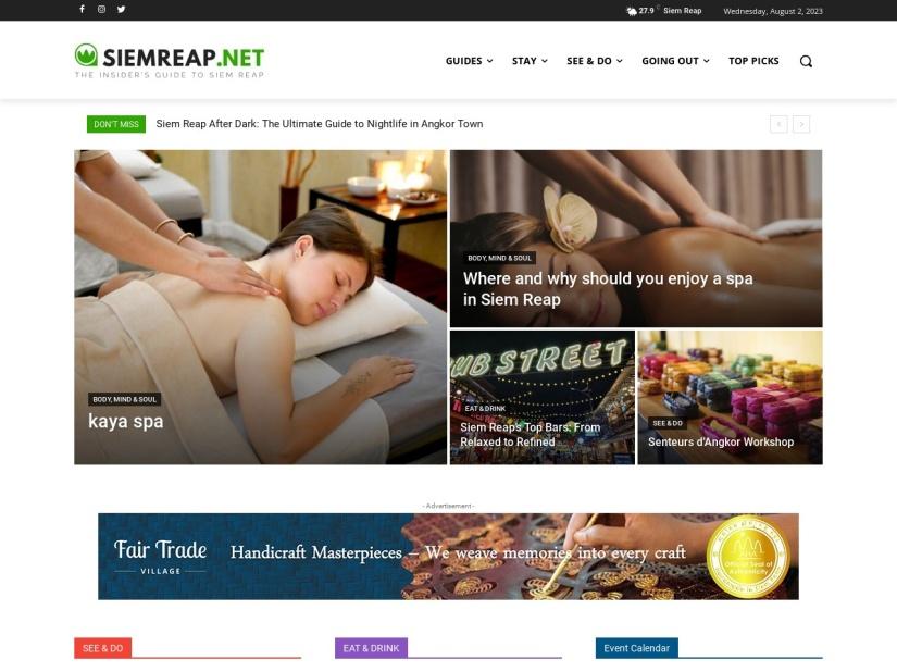 Siem Reap Travel & Living Guide