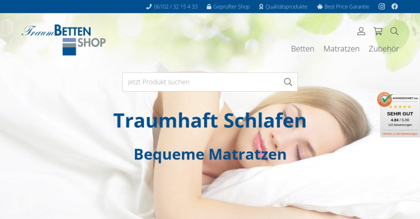 Traumbetten Shop 1