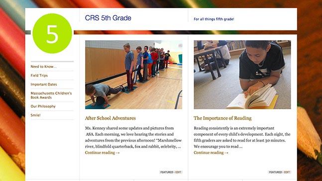 """<a href=""""http://crs5thgrade.wordpress.com/"""">CRS 5th Grade</a>"""