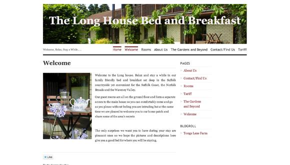 "<a href=""http://longhousebandb.wordpress.com/"">Long House Bed & Breakfast</a>"