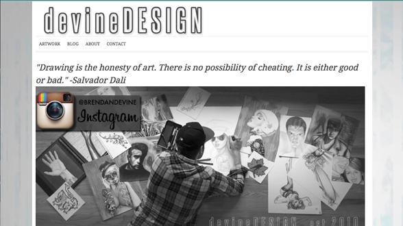"<a href=""http://bedevinedesign.com/"">Devine Design</a>"
